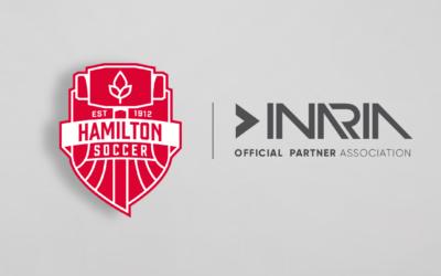 Inaria Announced as Official Apparel Partner of Hamilton Soccer